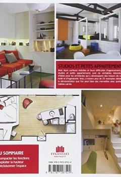 Livres Couvertures de Studios et petits appartements : Plus de 25 réalisations