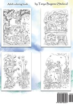 Livres Couvertures de Nice Little Town: Adult Coloring Book (Stress Relieving Coloring Pages, Coloring Book for Relaxation)