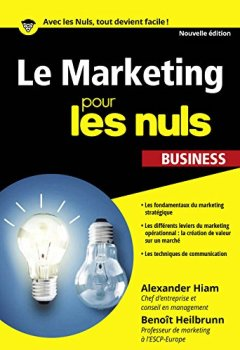 Livres Couvertures de Le Marketing pour les Nuls poche business