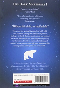 Abdeckungen Northern Lights: His Dark Materials 1. Titel der amerikanischen Ausgabe: The Golden Compass