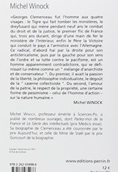 Livres Couvertures de Clemenceau