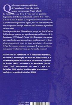 Livres Couvertures de 470 ans d'histoire prédites par Nostradamus : 1555-2025
