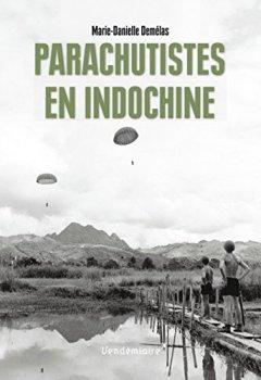 Livres Couvertures de Parachutistes en Indochine
