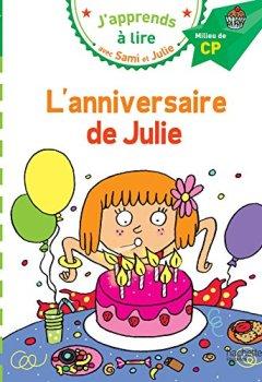 Livres Couvertures de Sami et Julie CP Niveau 2 L'anniversaire de Julie