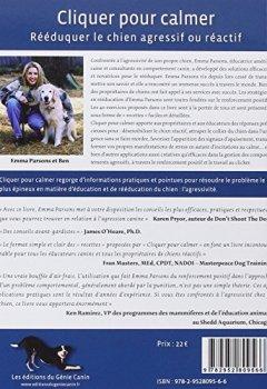Livres Couvertures de Cliquer pour calmer, Rééduquer le chien agressif ou réactif