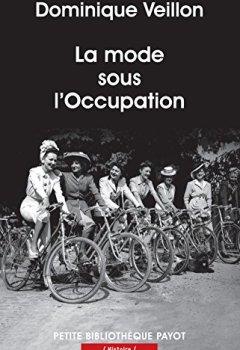 Livres Couvertures de La mode sous l'Occupation
