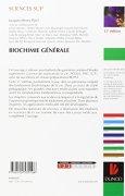 Livres Couvertures de Biochimie générale 11e édition: Cours et questions de révision
