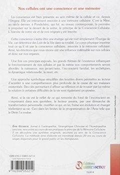 Livres Couvertures de La Conscience Cellulaire et la mémoire cellulaire