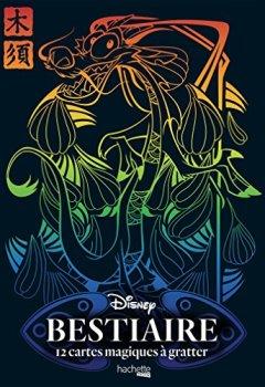 Livres Couvertures de Cartes à gratter Bestiaire Disney