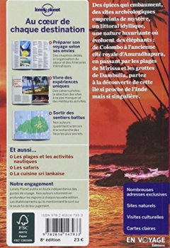 Livres Couvertures de Sri Lanka - 8ed