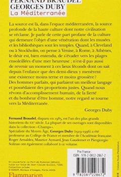Livres Couvertures de La méditerranée : Les hommes et l'héritage