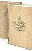 Grand Livre de Recettes XXL Vintage à compléter personnaliser ou à offrir à un amateur de cuisine Cadeau pour Elle Maman Mamie Soeur Format A4 164 pages blanches sans lignes Table des Matières incluse