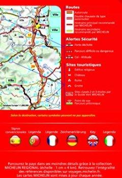 Livres Couvertures de Carte Espagne Portugal Baléares Michelin 2018