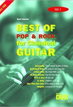 Livres Couvertures de Best Of Pop & Rock for Classical Guitar 1