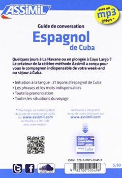 Livres Couvertures de Guide Espagnol de Cuba