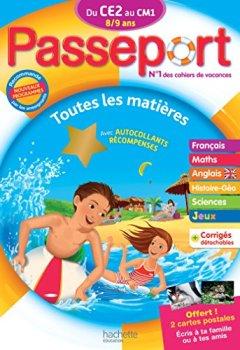 Livres Couvertures de Passeport Du CE2 au CM1 - Cahier de vacances