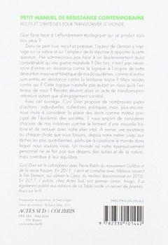 Livres Couvertures de Petit manuel de résistance contemporaine : Récits et stratégies pour transformer le monde