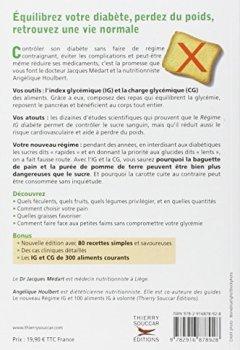 Livres Couvertures de Nouveau régime IG pour les diabétiques et les prédiabétiques