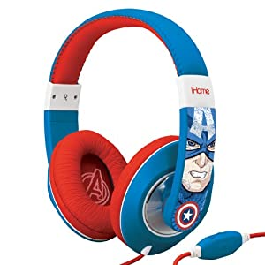 eKids Captain America Technology Offers Great Sound Quality!