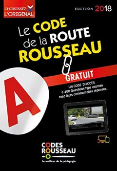 Livres Couvertures de Code Rousseau de la route B 2018