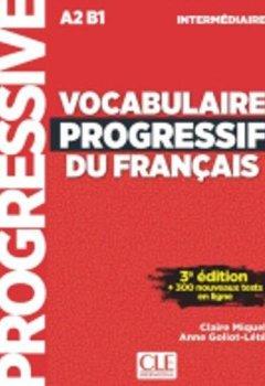 Livres Couvertures de Vocabulaire progressif du français - Niveau intermédiaire - 3ème édition - Livre + CD + Appli-web