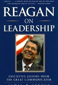 Buchdeckel von Reagan on Leadership: Executive Lessons from the Great Communicator