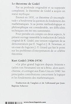 Livres Couvertures de Le Théorème de Gödel