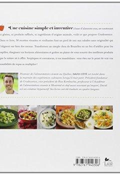 Livres Couvertures de Les Salades de Crudessence