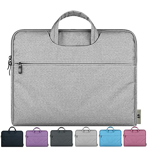 Litop-11-116-Inch-Waterproof-Fabric-Notebook-Sleeve-Laptop-Bag-Case-with-Handle-for-Apple-MacBook-Air-116-inch-Ultrabook-Acer-Asus-Dell-HP-SONY-Toshiba-Lenovo-Thinkpad