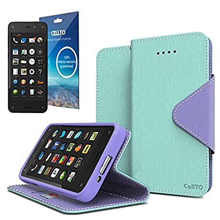 With our world best life time warranty program, Enjoy your new case and new phone. for Perfection with a cut-out design for the touch screen, our Dual Protection Wallet case allows you to keep the premium tactile feel as using the Amazon Fire. Perfec...