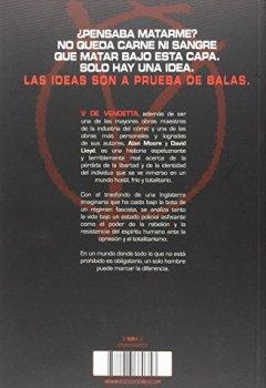 Portada del libro deV de Vendetta (6a edición)