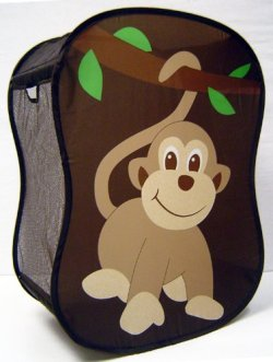 Starting Small Monkey Novelty Hamper in Brown