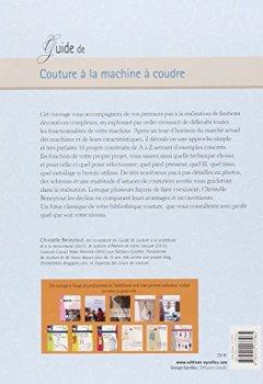 Livres Couvertures de Guide de couture à la machine à coudre