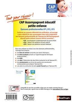 Livres Couvertures de Épreuves professionnelles CAP Accompagnant Educatif Petite enfance