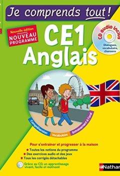 Livres Couvertures de Anglais CE1 - cours + exercices + audio - Je comprends tout - conforme au programme de CE1