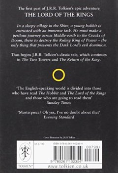 Livres Couvertures de Lord of the Ring, tome 1 : Fellowship of Ring (en anglais)