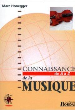 Livres Couvertures de CONNAISSANCE DE LA MUSIQUE    (Ancienne Edition)