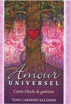 Livres Couvertures de Amour universel : Cartes oracle de guérison