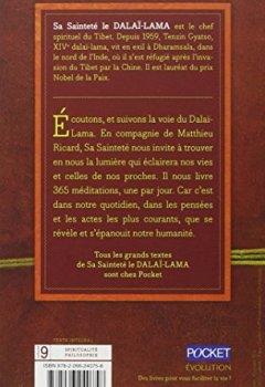 Livres Couvertures de 365 méditations quotidiennes du Dalaï-Lama