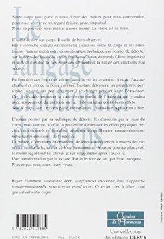 Livres Couvertures de Le langage émotionnel du corps : L'approche somato-émotionnelle, chemin de libération