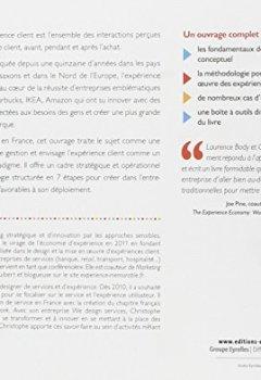 Livres Couvertures de L'expérience client : Le design pour innover, L'humain pour créer du lien, Le collaboratif pour accompagner le changement