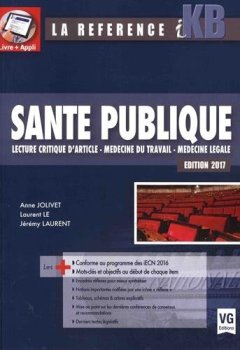 Livres Couvertures de Santé publique : Lecture critique d'article, médecine du travail, médecine légale