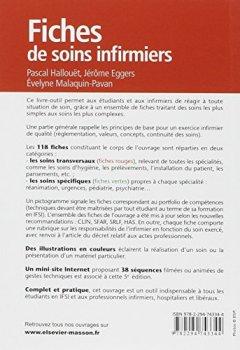Livres Couvertures de Fiches de soins infirmiers: Avec site Internet