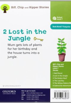 Livres Couvertures de Oxford Reading Tree: Level 7: Stories: Lost in the Jungle