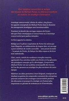 Livres Couvertures de Comprendre Michael Porter. Concurrence. Stratégie.