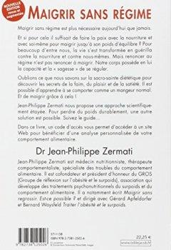 Livres Couvertures de Maigrir sans régime: Nouvelle édition revue et augmentée