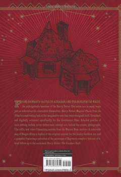 Livres Couvertures de Harry Potter: Magical Places from the Films: Hogwarts, Diagon Alley, and Beyond