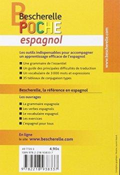 Livres Couvertures de Bescherelle poche Espagnol: L'essentiel sur la langue espagnole