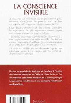 Livres Couvertures de La conscience invisible : Le paranormal à l'épreuve de la science