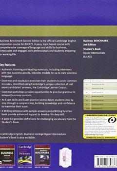 Livres Couvertures de Business Benchmark Upper Intermediate BULATS Student's Book